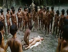 Tribal Leader Worships Naked Woman