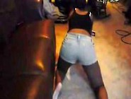 Sexy Black Girl Wet Juicy Farting