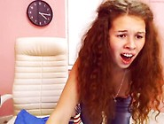 Alisa Star Russian Teen Redhead Webcam Ohmibod Torture