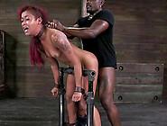 Skinny Redhead Slave Throbbed Hardcore In Bdsm Porn Lovely