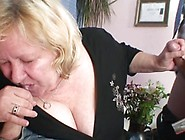 Grandma Receives 2 Private Parts At Once