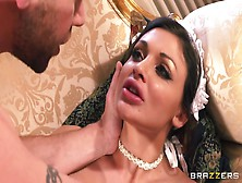 Busty Maid Aletta Ocean Receives Superb Fucking Pleasures