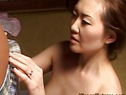 Asian Mature Getting Boned After Her Bj
