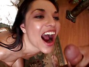 Alicia Angel Swallowing Many Loads From Down The Hatch #19