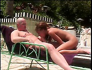 Slender Redhead Mya Sucks A Dick And Enjoys Hard Anal Sex By The
