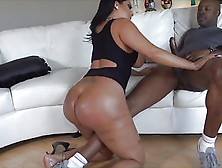 Kiara Mia Takes A Big Black Cock Up The Ass