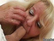 Young Dude Picks Up Old Blonde