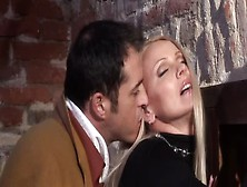 The Classy Milf Winnie Fucking With Her Lover In The Stables