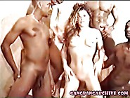 Gangabang Archive With Interracial Gangbanging Party Of Milf