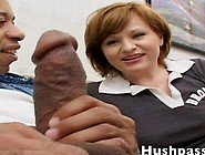 Michelle Christian Has Her Tight White Pussy Tore Up By Shane Di