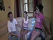 Czech Teens Couple Horny Hard Orgy Fuck