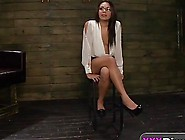 Disgraced Slut Isa Mendez Gets Hands Tied And Pussy Terrorized B