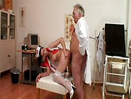 Fat Ugly Old Doctor Fucks The Wet Pussy Of Pretty Black Head Ive