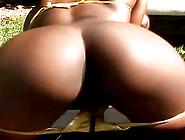 Sweet Kenya Sweetz Has Interracial Sex Outdoors With A White Man