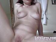 Lelu Love-Booty Twerking Asshole Puckering Closeups