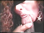 Mature Wife Sucking And Licking On A Black Cock Blindfolded