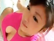 Sweet Asian Girl Teasing Her Body