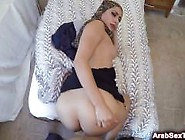 Arab Shy Milf Playing On Her Trimmed Hairy Pussy For Horny Hotel