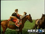 Crazy Vintage Porn With Fucking In The Stables