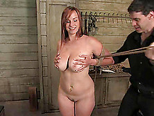 Bella Rossi Enjoys Being Tortured By Maestro And His Buddy