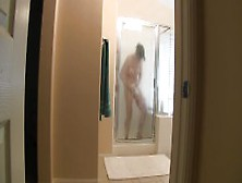 Zoey Holloway - Son Spies On Mom Showering