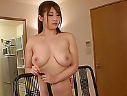 Tomoe Nakamura's Big Tits Jiggle As She Gets Fucked From Behind
