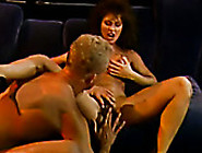 Sensual Classic Brunette Gives Her Head And Gets Her Pussy Licke