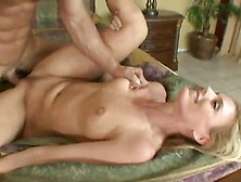 Hot Blonde Darryl Hanah Shaged By The Wedding Banger