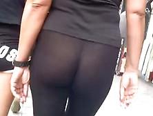 See Through Leggings Sexy Ass. Flv