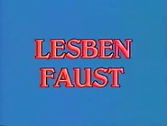 Vintage L - Lesben Faust - German Classic - 50. 54