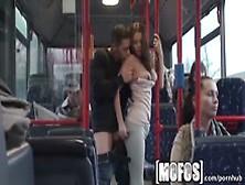 Horny Teen Bonnie Shai Enjoys Hard Cock On The Bus