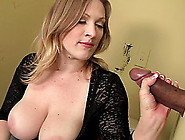 Big Dick Needs A Good Slobbering From The Gloryhole Milf