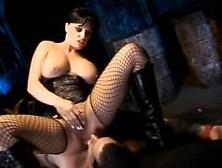 Panties Down (Scene 05) - Kinky Whores Tease Guy Before He Fucks