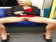Milf London Underground Flasher