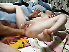 Japanese Slutty Brunette Wife Was Ready For Some Fisting And Ana