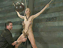 Chastity Lynn Gets Beaten And Pinched And Enjoys A Toy In Her Sn