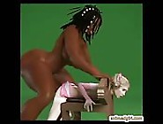 Muscular Ghetto 3D Shemale Fucked A Captive Anime