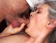 Young Man Fucking An Old Grey Haired Granny