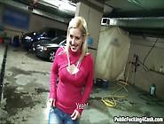 Sexy Czech Girl Ellen Fucked In Car Park