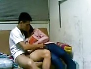 Cute Korean Girl Fucks Her Bf In Various Positions On The Sofa