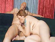 Short Haired Redhead German Granny With Curves Is Fucked In Real