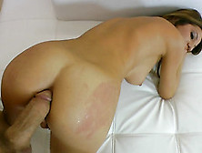 Big Dick Fucks Her Asshole And The Girl Tastes It