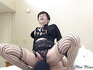 Making Cuckold Cumslut Suck Out Stranger Creampie