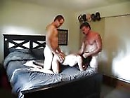 Sexy Slut Loves Pussy Drilling By Two Hard Cocks