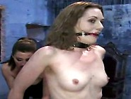 Abused And Bound Up Waitress Likes It