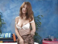 Karina White Massages Cock