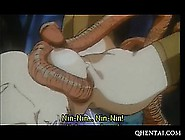 Hentai Girl Trapped By A Monster And Fucked