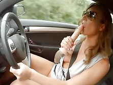 Horny Cougar Ava Austen Picks Up A Hitchhiker