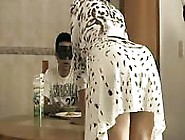 Masked Mexican Kitchen Sex