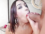 Boy Fucks Mouth And Enters Hole Of A Tranny Bitch